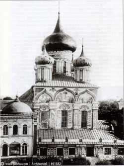 Успенский собор Московского Симонова монастыря. Фотограф К.Фишер