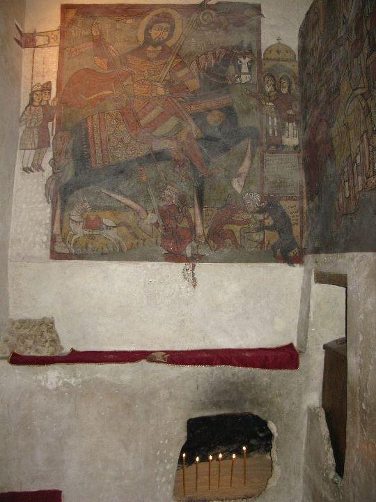 Гробница преподобного Антония Великого