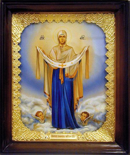 Покров Пресвятой Богородицы икона 4