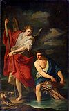 Anonimo lombardo (sec. XVII), L'arcangelo e Tobia.jpg