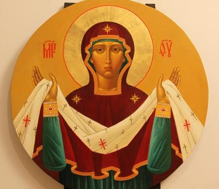 Покров Пресвятой Богородицы икона 2
