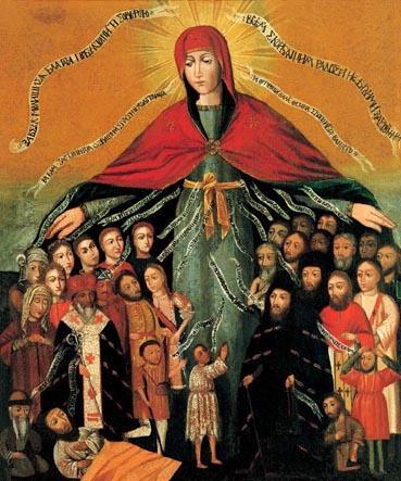Покров Пресвятой Богородицы икона 13