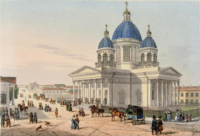 Свято-Троицкий собор лейб-гвардии Измайловского полка