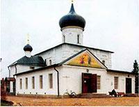 Георгиевская церковь, где находится самый почитаемый ныне список со Старорусской иконы Божией Матери
