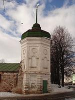 Towers of Spaso-Preobrazhensky Monastery (Mikhailovskaya).jpg