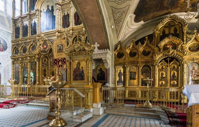 Внутри Знаменского храма Переяславской слободы