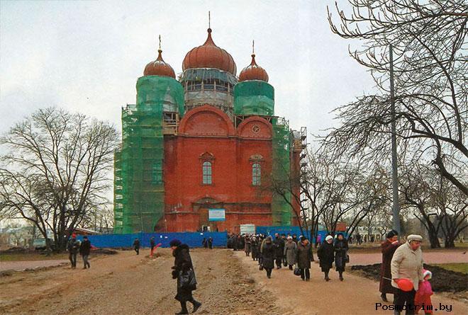 Начало XXI века.  Восстановление Екатерининского собора в Пушкине.