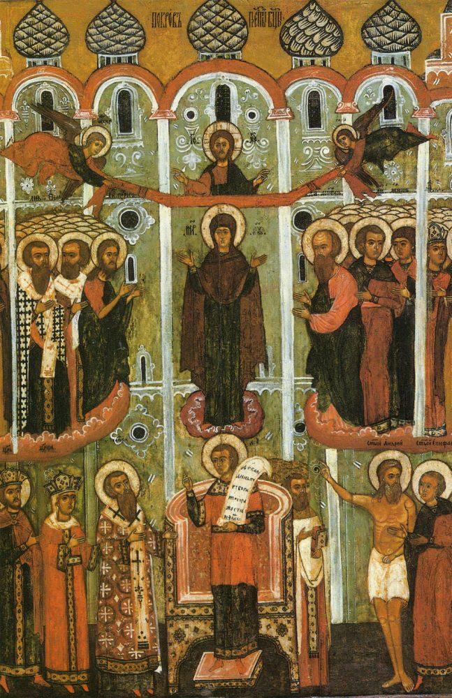 Покров Пресвятой Богородицы икона 11