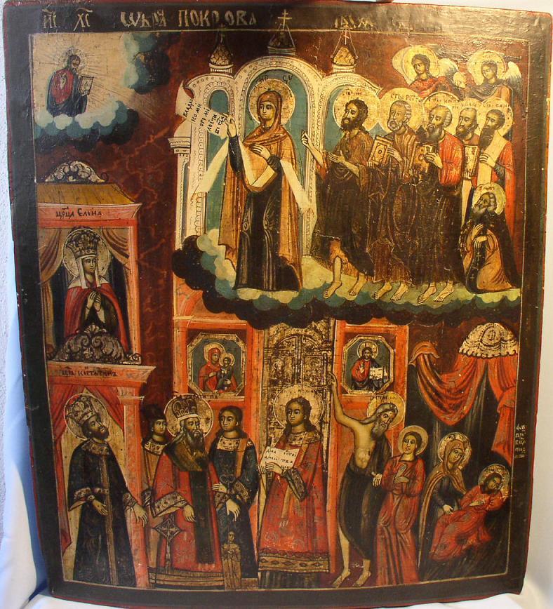 Покров Пресвятой Богородицы икона 12