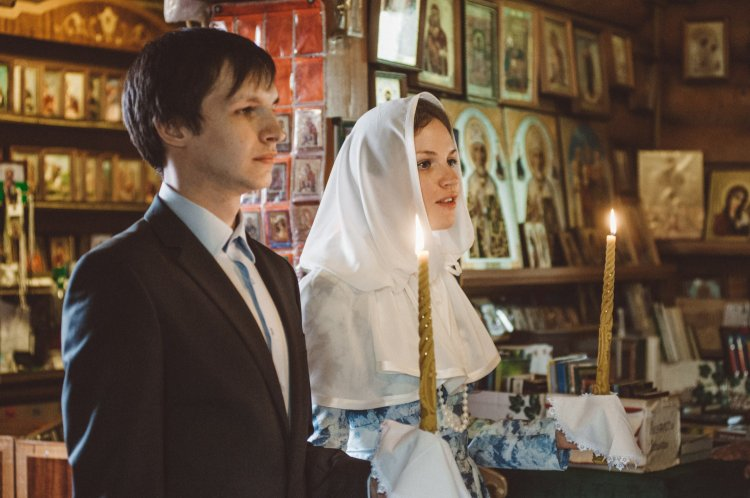 Проведение церемонии венчания