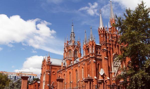 Храм непорочного зачатия Девы Марии в Москве