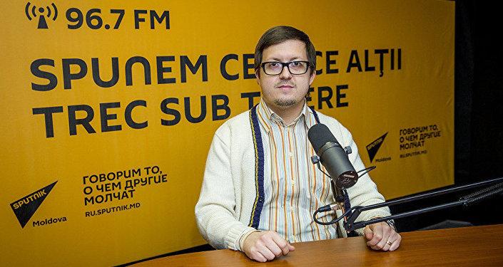 Настоятель Покровской церкви села Гидигич Максим Милинти