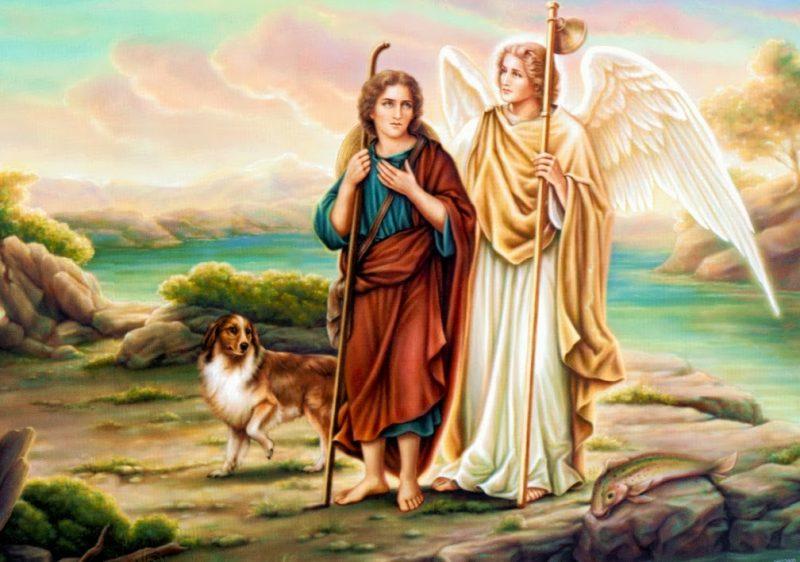 Архангел Рафаил: икона, в чем помогает, молитва об исцелении
