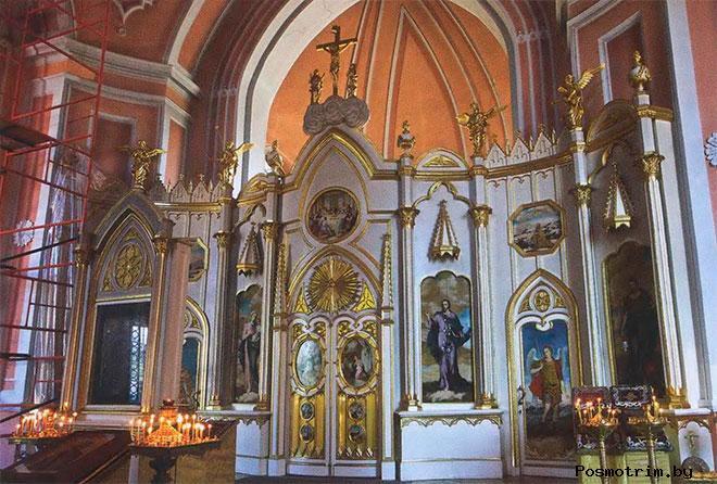 Интерьер Чесменской церкви