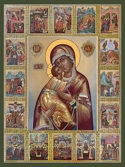 икона Владимирская Богородицы