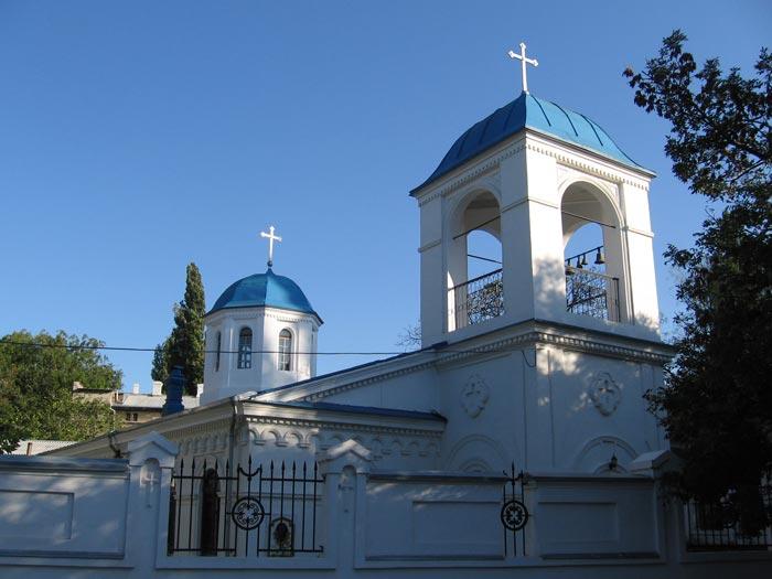 Введенский храм после реконструкции 19 века