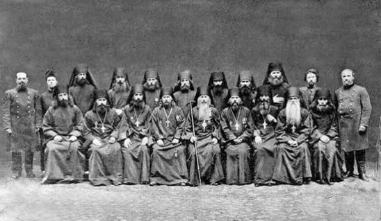 Братия Александро-Свирского монастыря