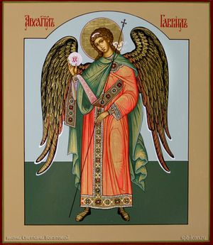 Икона Архангела Гавриила вторая
