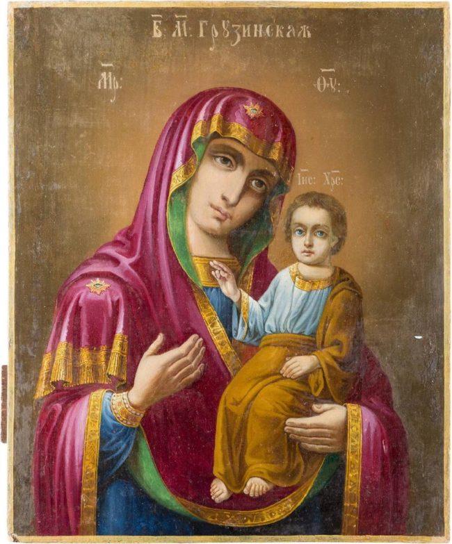 Икона грузинской Божьей матери