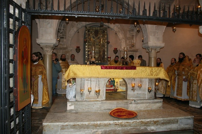 Мощи Святого Николая