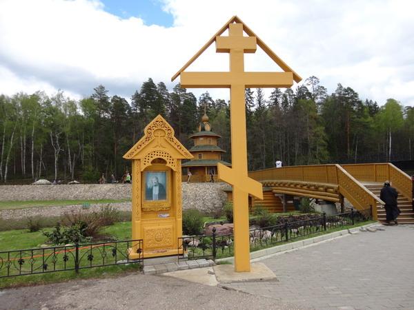 Источник прп. Серафима в Цыгановке