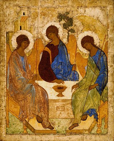 Троица, Андрей Рублев