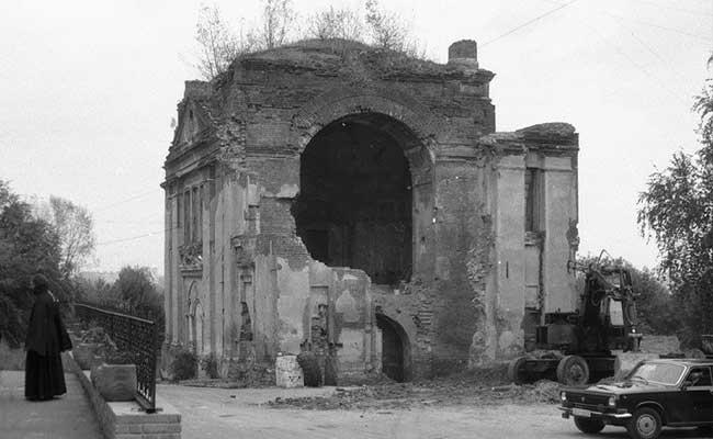 Монастырь до реставрции