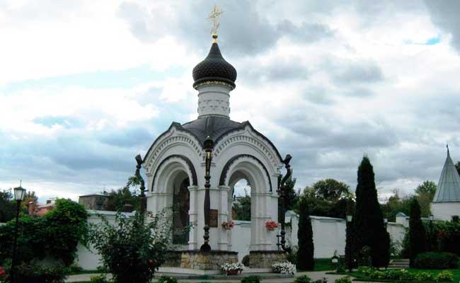 Алексеево-Акатов женский монастырь: часовня новомученников