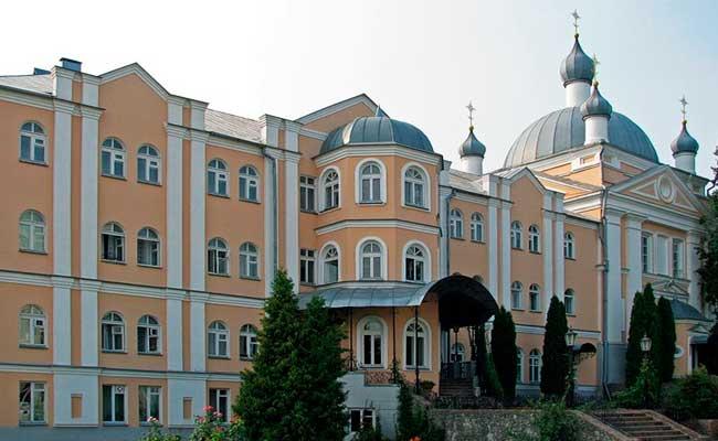 Алексиево-Акатов монастырь: Сергиевская церковь