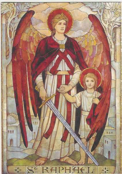 изображение архангела рафаила