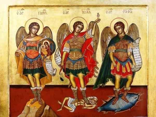 3 архангела рафаил михаил гавриил