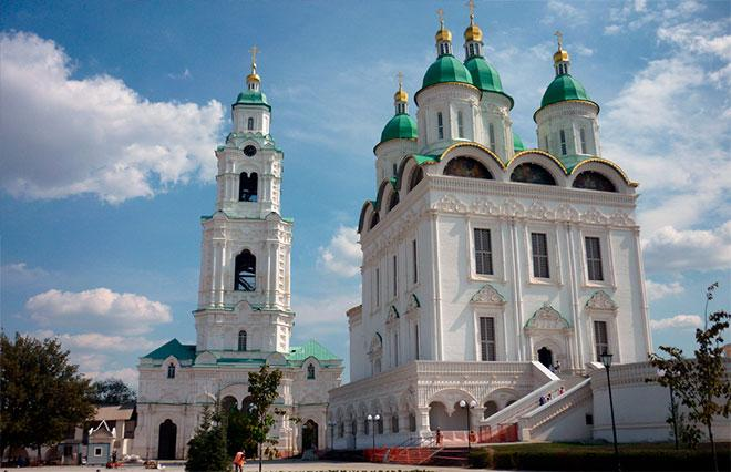 Архитектура Успенского собора Астрахани