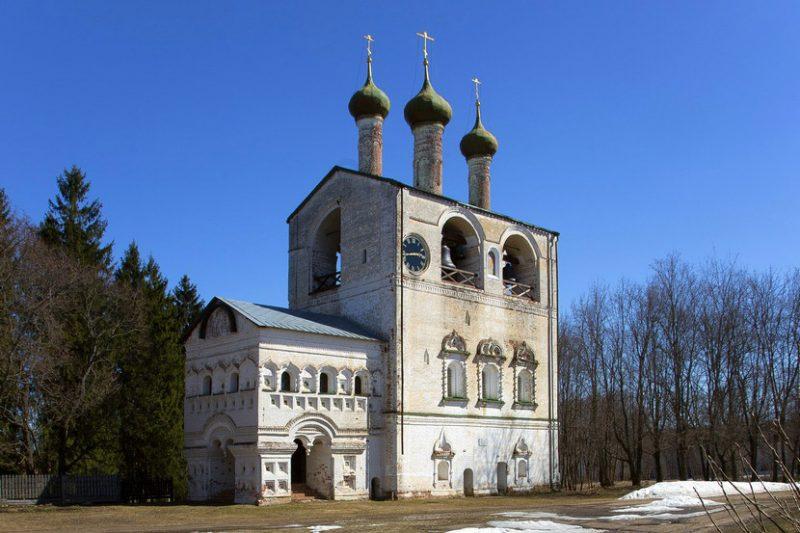 Борисоглебский монастырь в Ярославской области