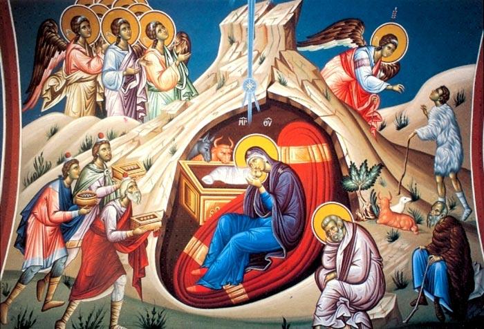 Особо почитаемая икона Рождества