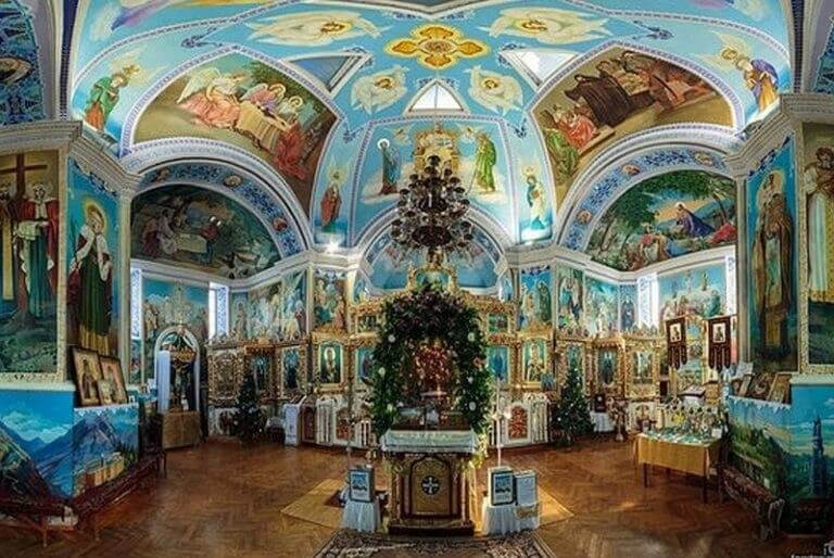 Архитектура храм Святой Екатерины в Феодосии