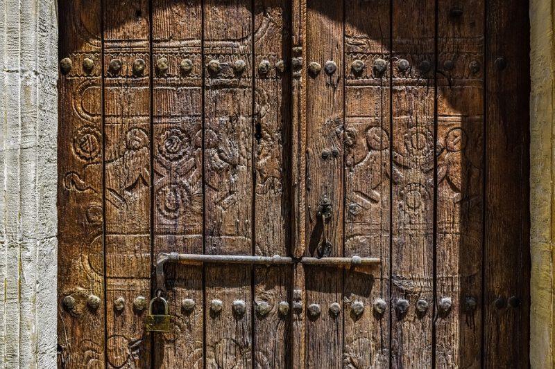 Мария Египетская. Двери храма