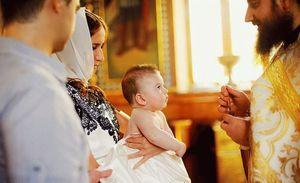 Действия после обряда крещения