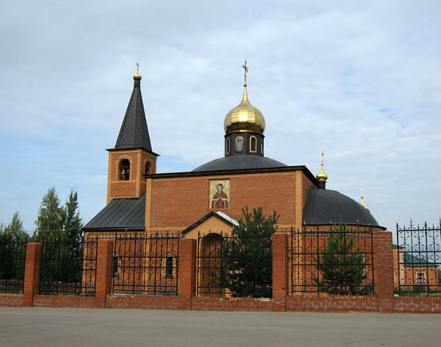 Храм на Домодедовском кладбище