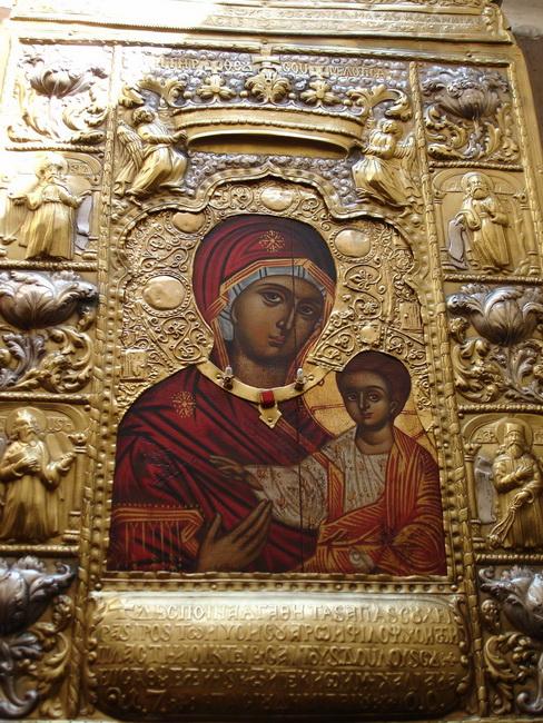 Икона Богородицы «Панагия Сумела»