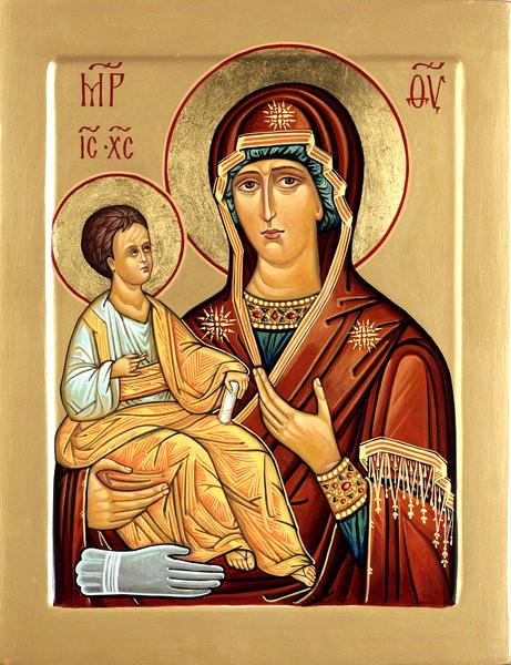 Икона Божьей Матери «Троеручица»