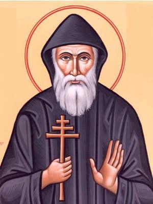 Икона Святого Шарбеля
