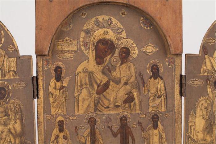 Икона в скорбях и печалях утешение складень