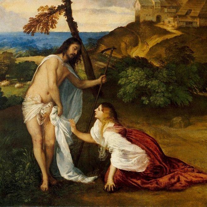Репродукция картины с изображением Марии Магдалины