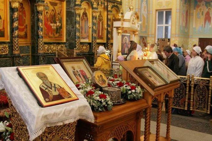 Праздник Икона Киприана и Устинии