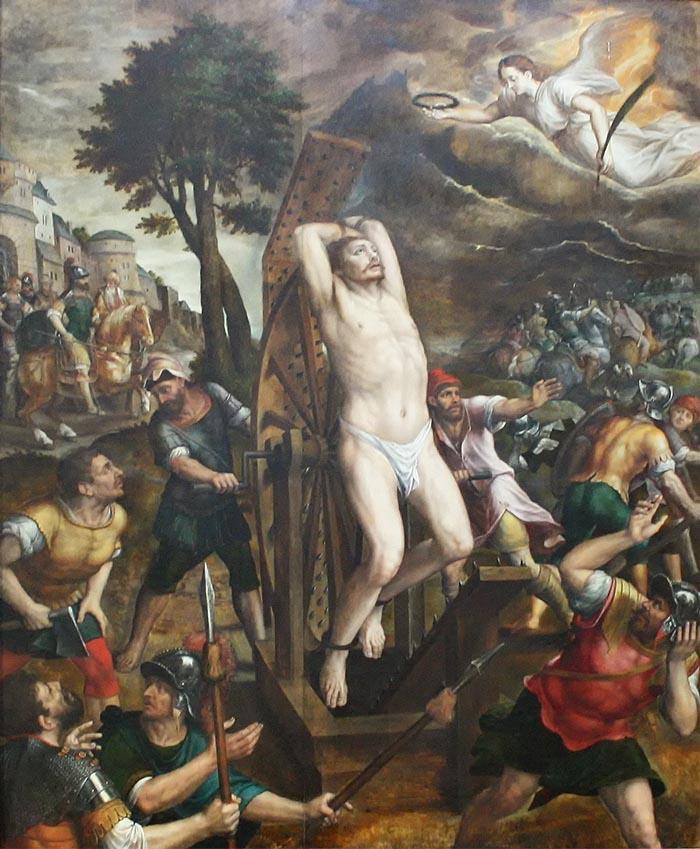 Пытки Георгия Победоносца
