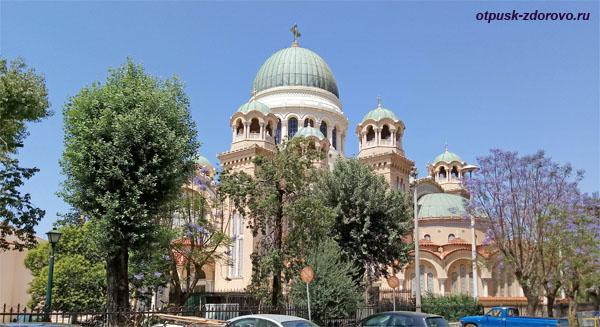 Кафедральный Собор апостола Андрея Первозванного, Патры, Греция