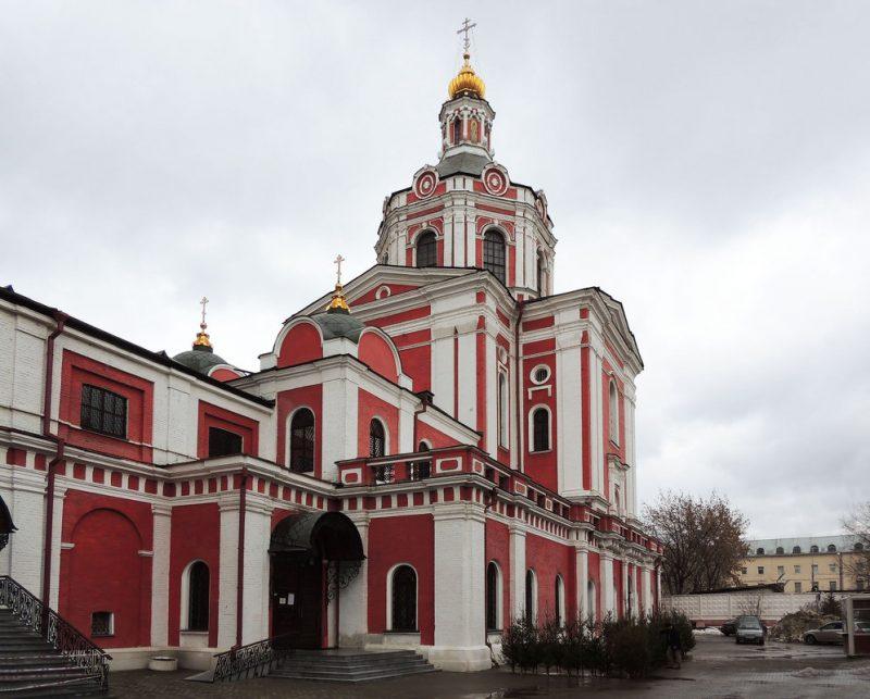 храм за серпуховскими воротами расписание