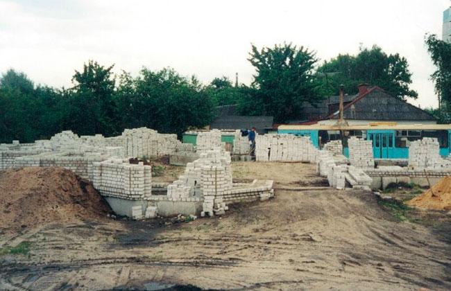 Храм Андрея Первозванного в Воронеже, строительство