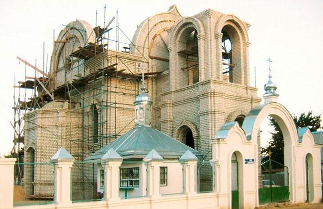 Андреевская церковь в Северном районе (Воронеж)