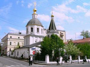 храме Малого Вознесения